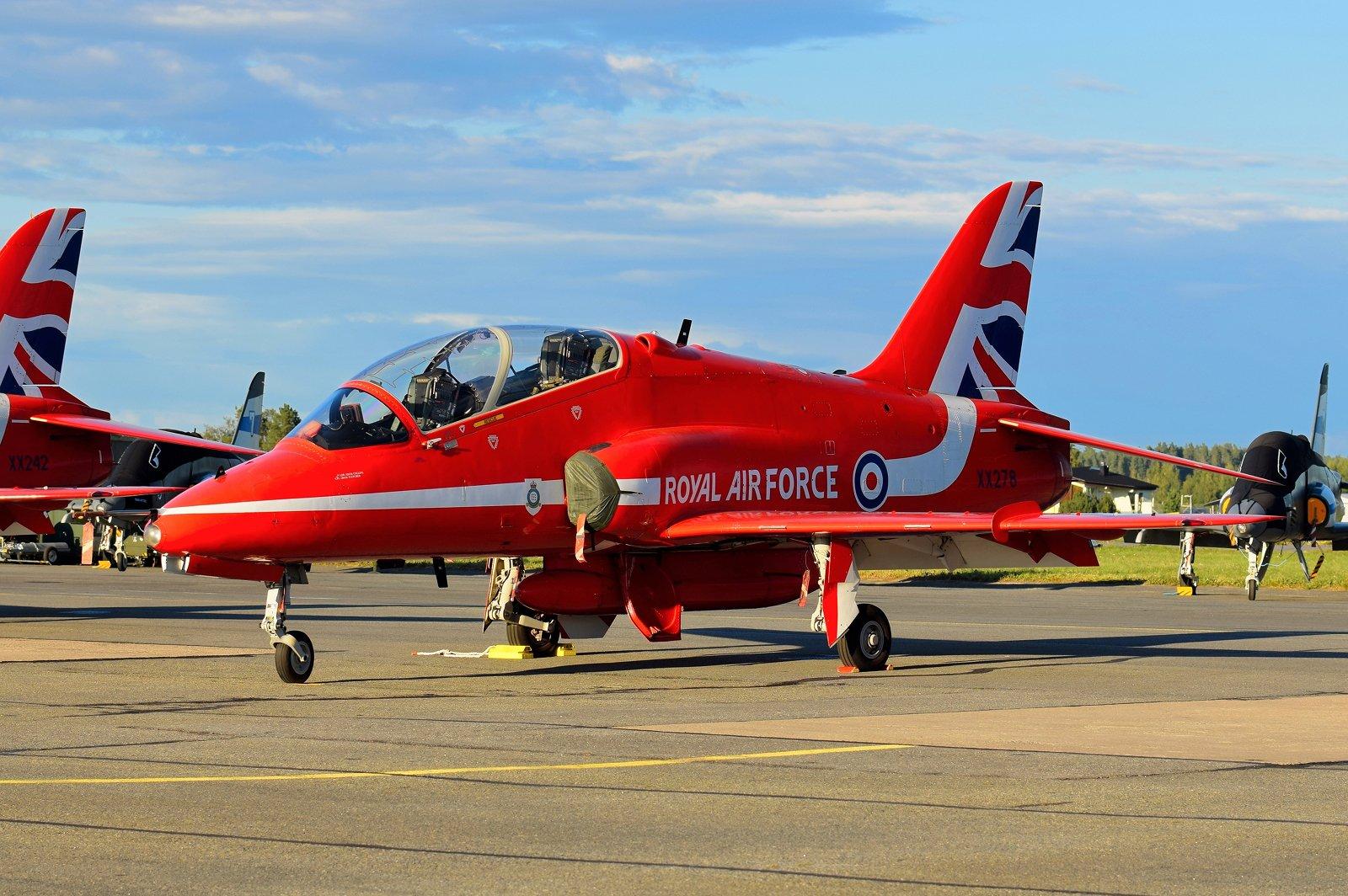 XX278 - British Aerospace Hawk T.1A - Royal Air Force (RAF) - 29.8.2020