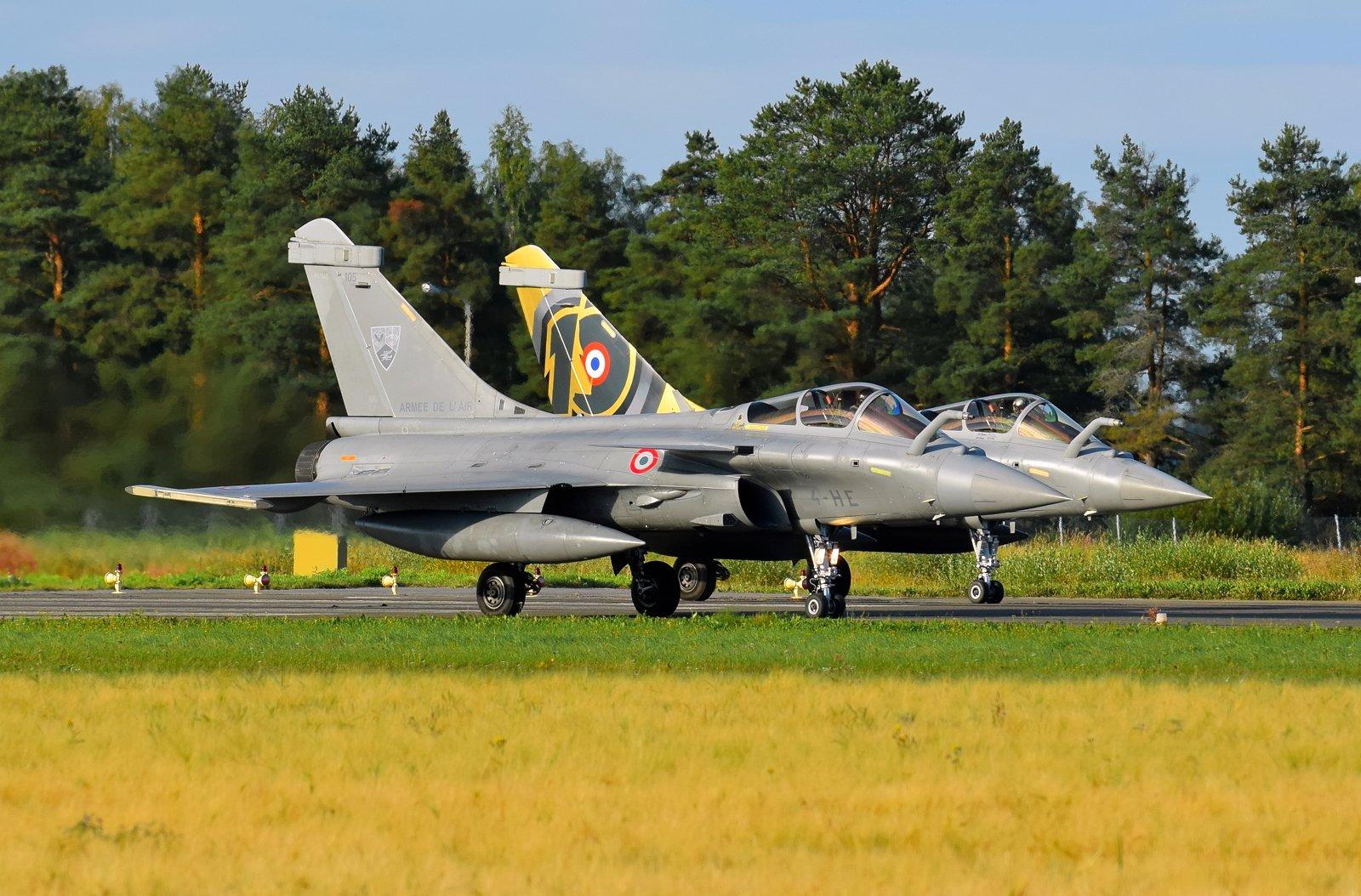 105 (takana 109) - Dassault Rafale C - Armee De L'Air (Ranskan ilmavoimat) - 31.8.2020