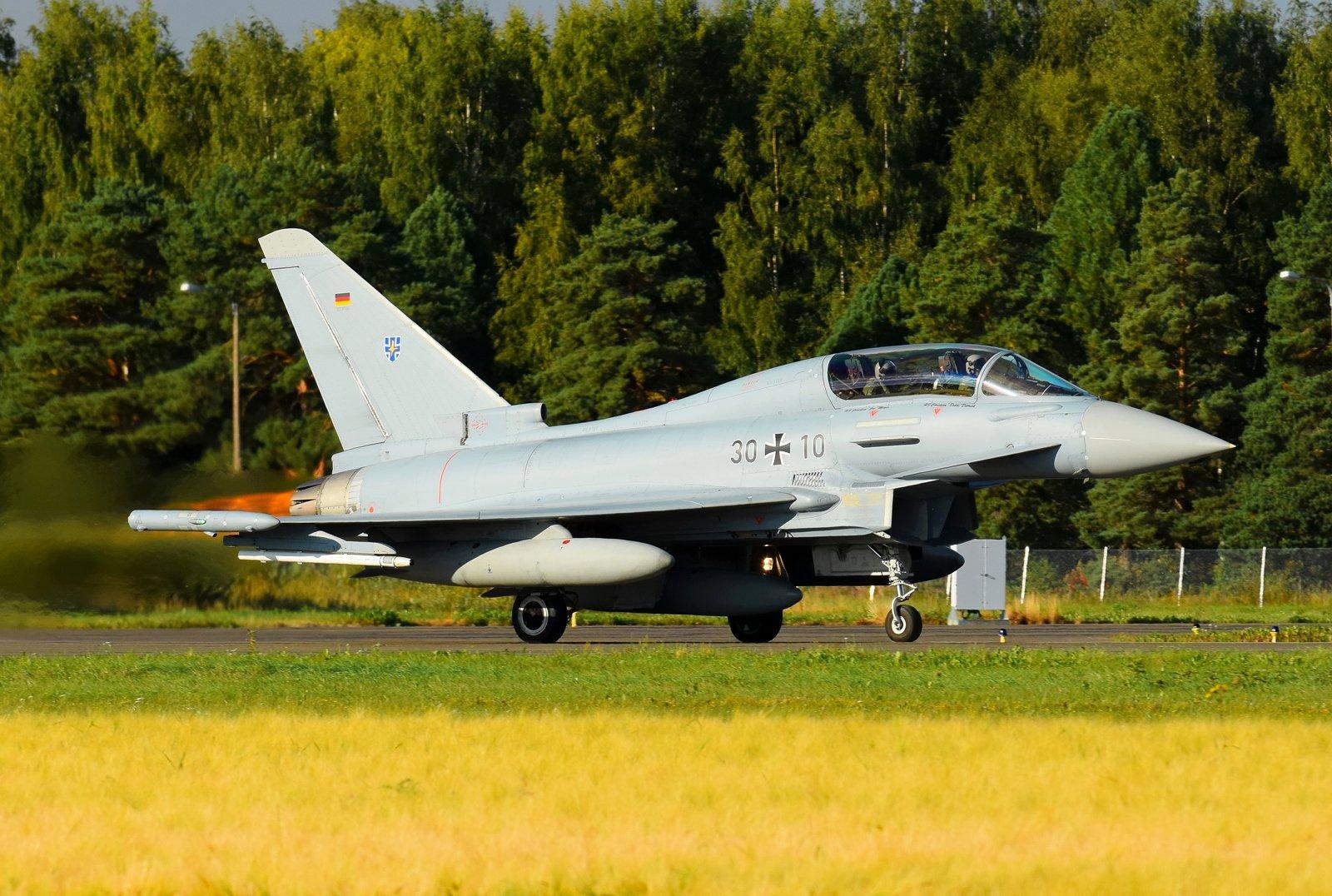 30+10 - Eurofighter Typhoon EF2000(T) - Luftwaffe (Saksan ilmavoimat) - 31.8.2020