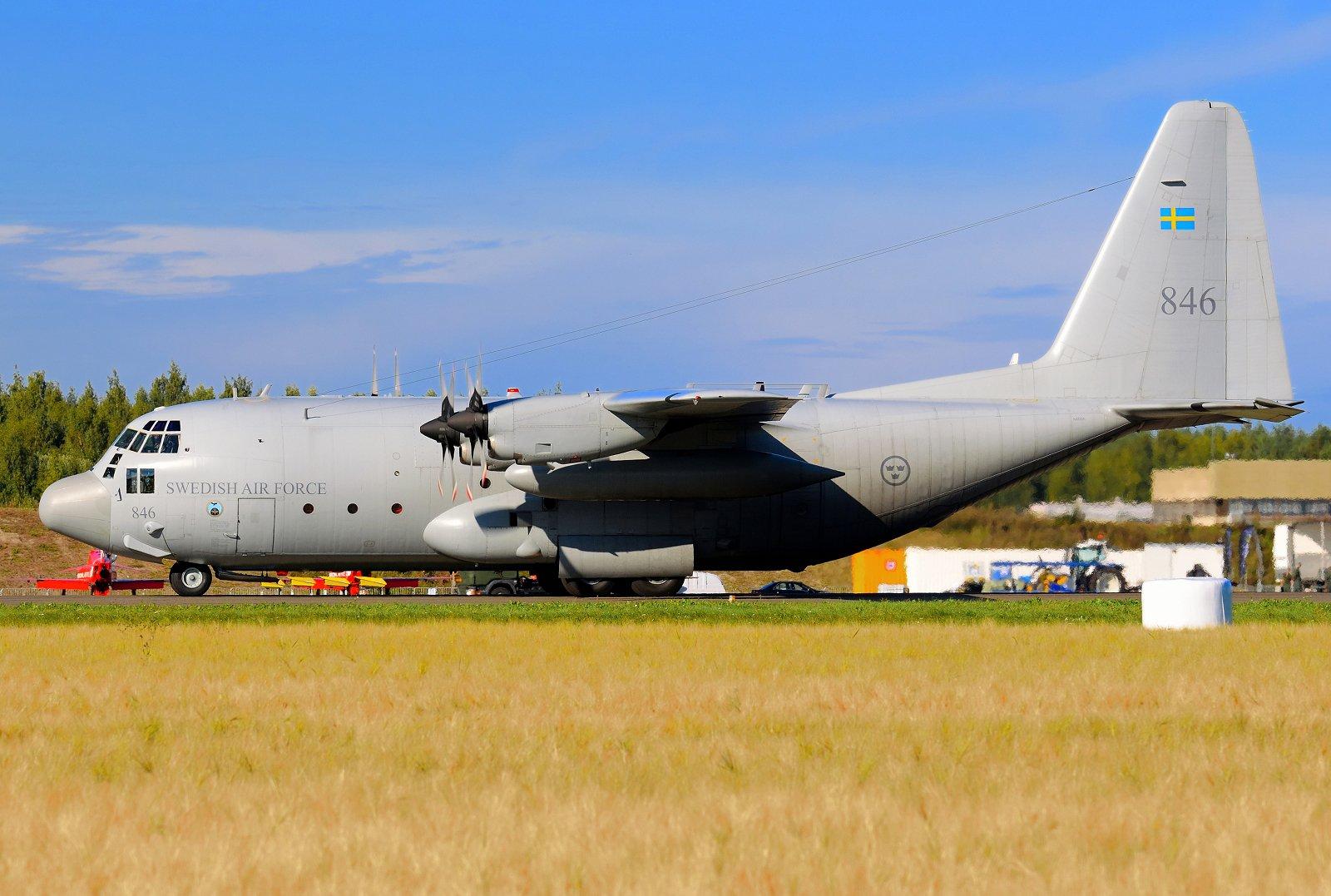 84006 - Lockheed Tp84 (C-130H) Hercules - Flygvapnet (Ruotsin ilmavoimat) - 31.8.2020