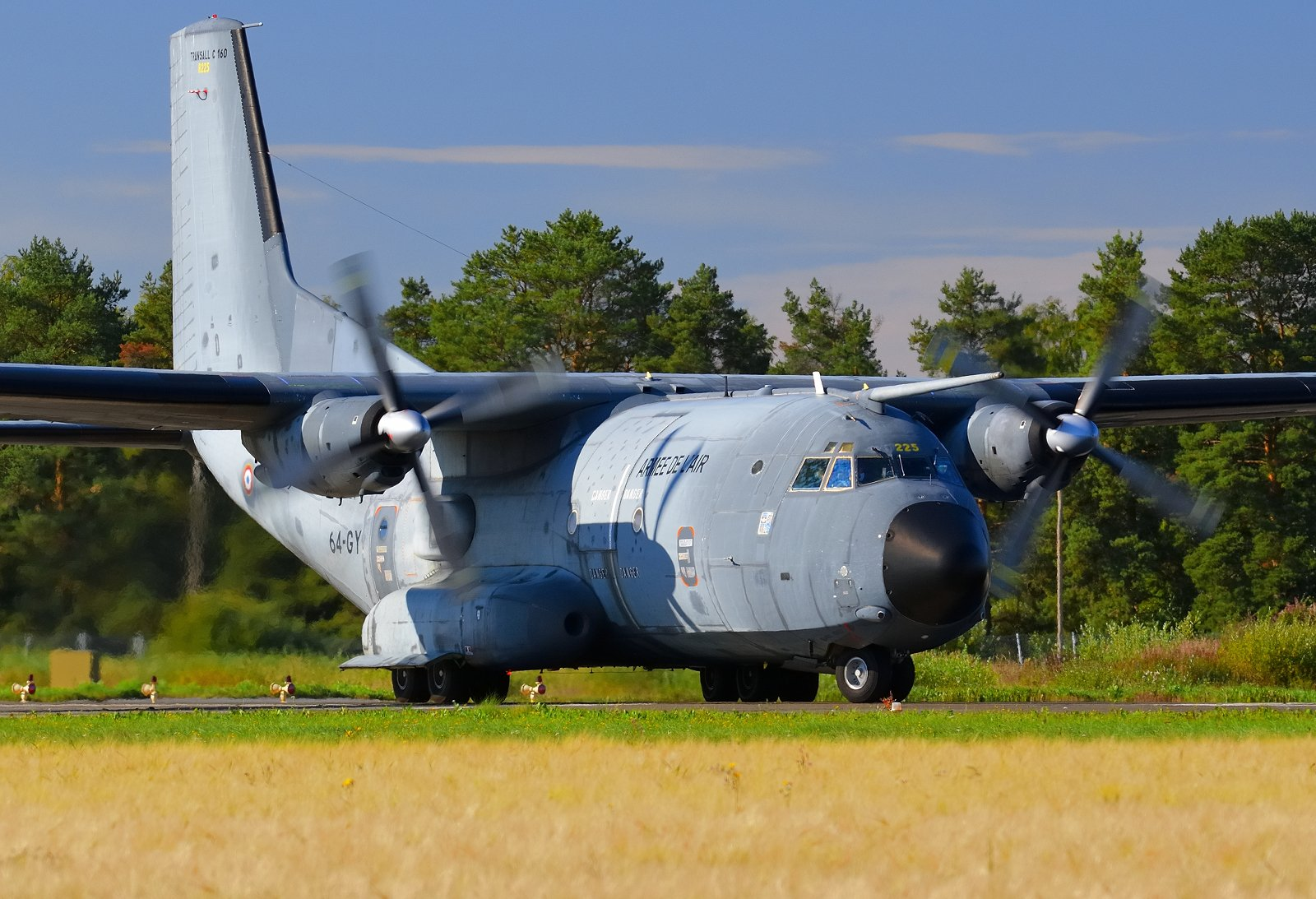 R225 - Transall C-160R - Armee De l'Air (Ranskan ilmavoimat) - 31.8.2020