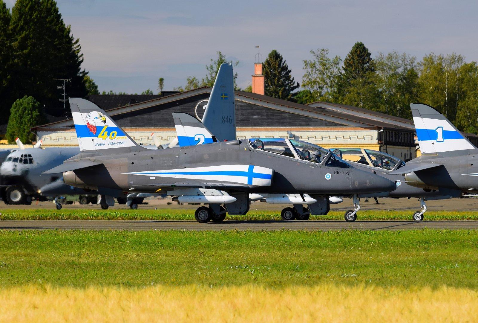 HW-353 - British Aerospace Hawk Mk.51A - Ilmavoimat - 31.8.2020