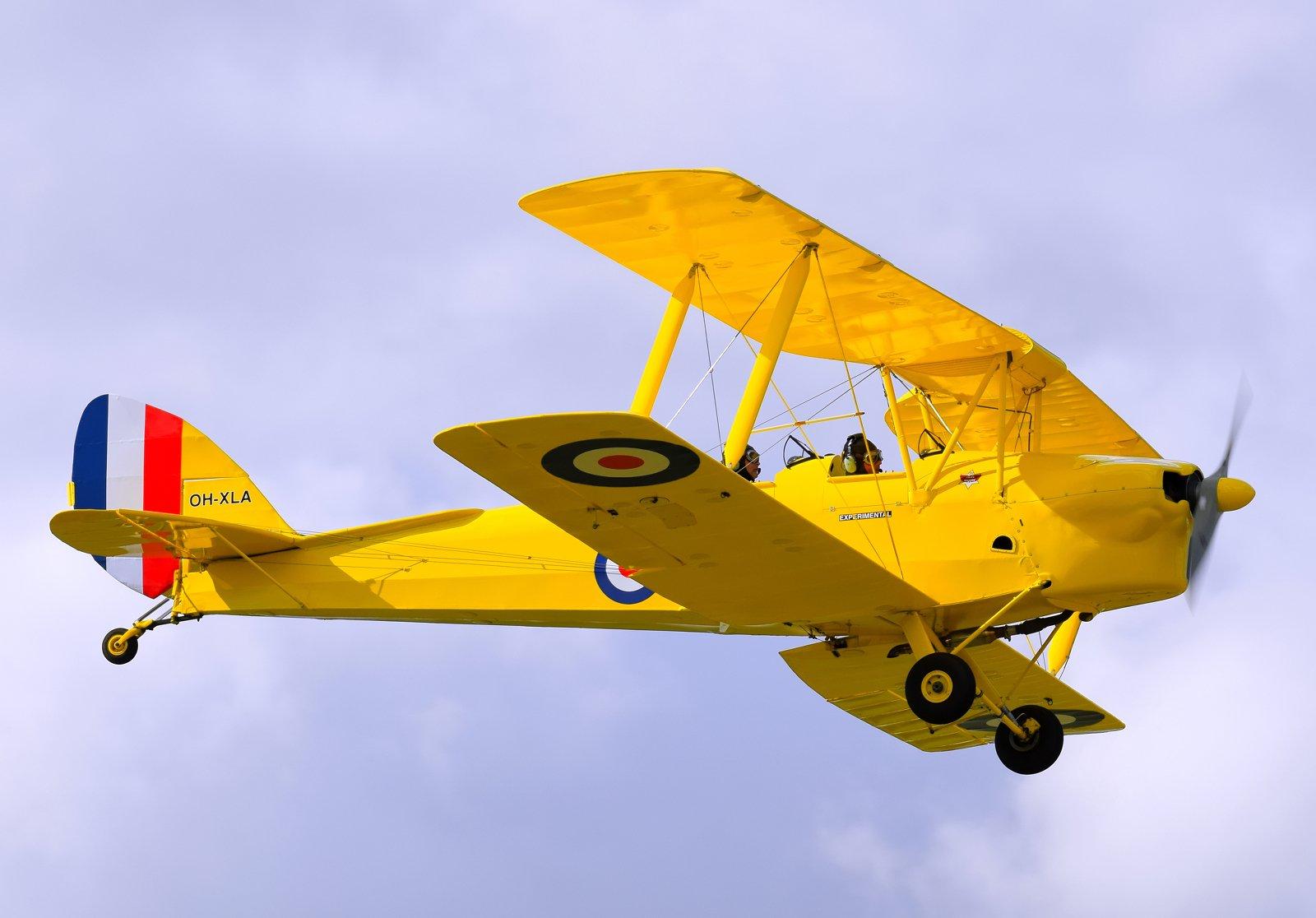 OH-XLA - De Havilland D.H.82A Tiger Moth - 31.8.2020