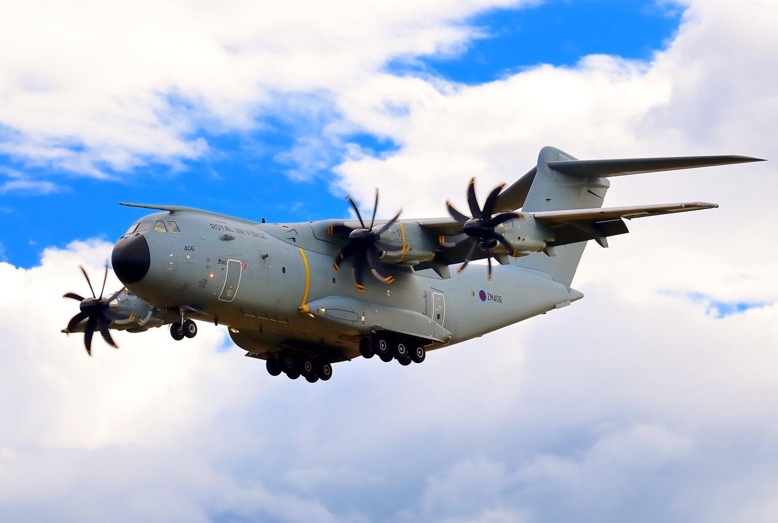 ZM406 - Airbus A400M Atlas C.1 - Royal Air Force (RAF) (Isobritannian ilmavoimat) - 31.8.2020