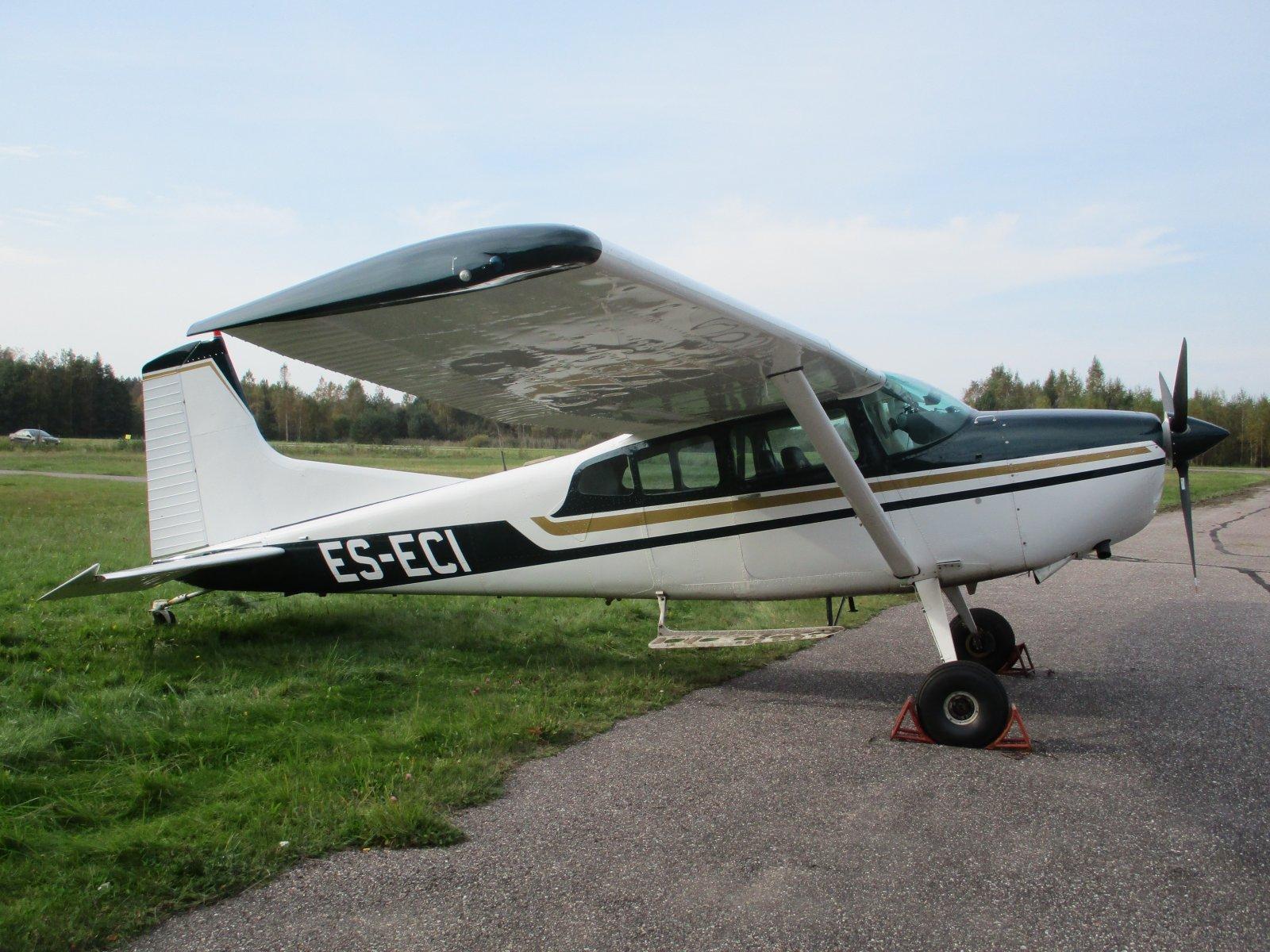 Cessna A185F Skywagon ES-ECI EFHN 2020-09-26