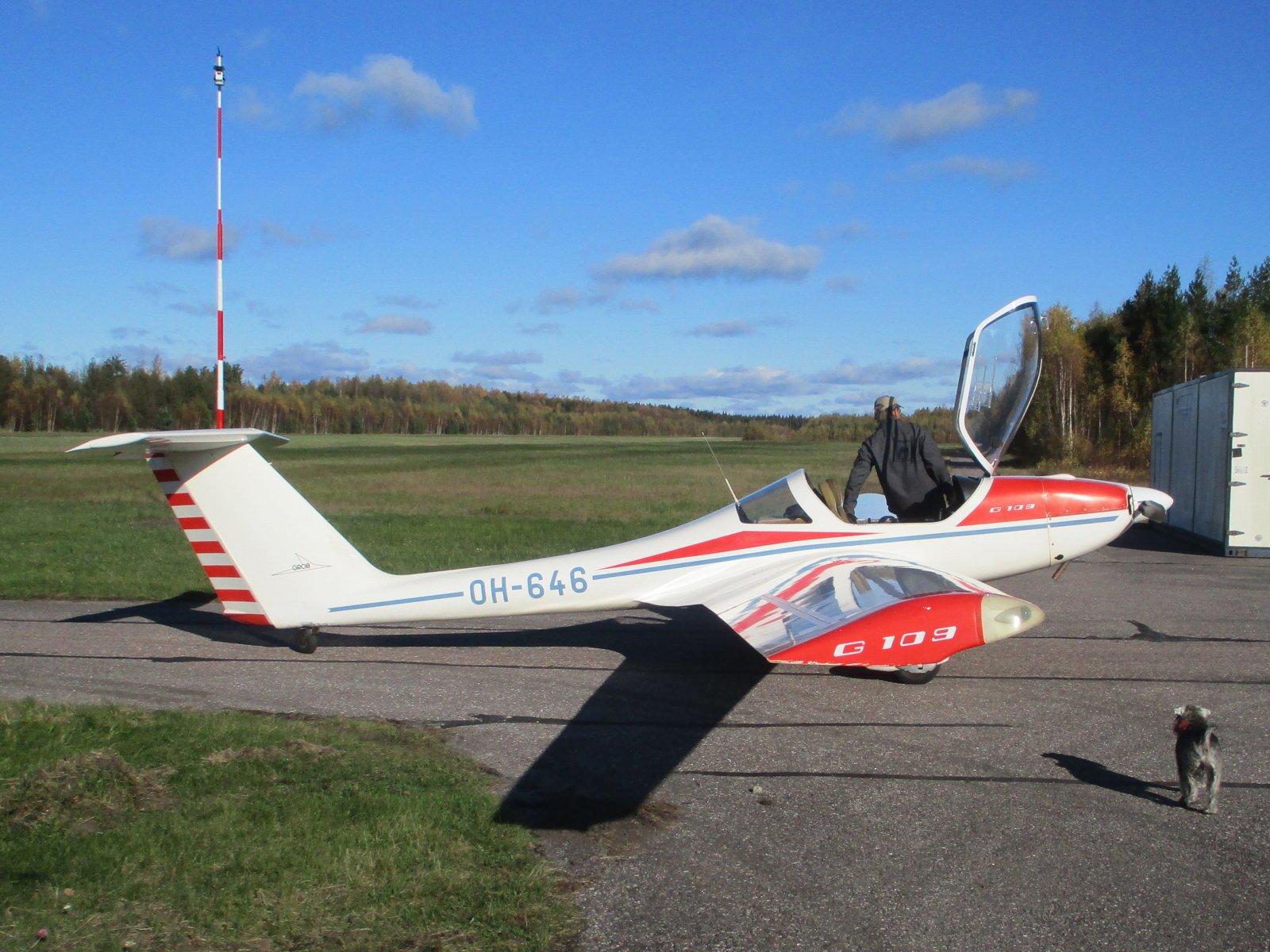 Grob 109 OH-646 EFHN 2020-10-16