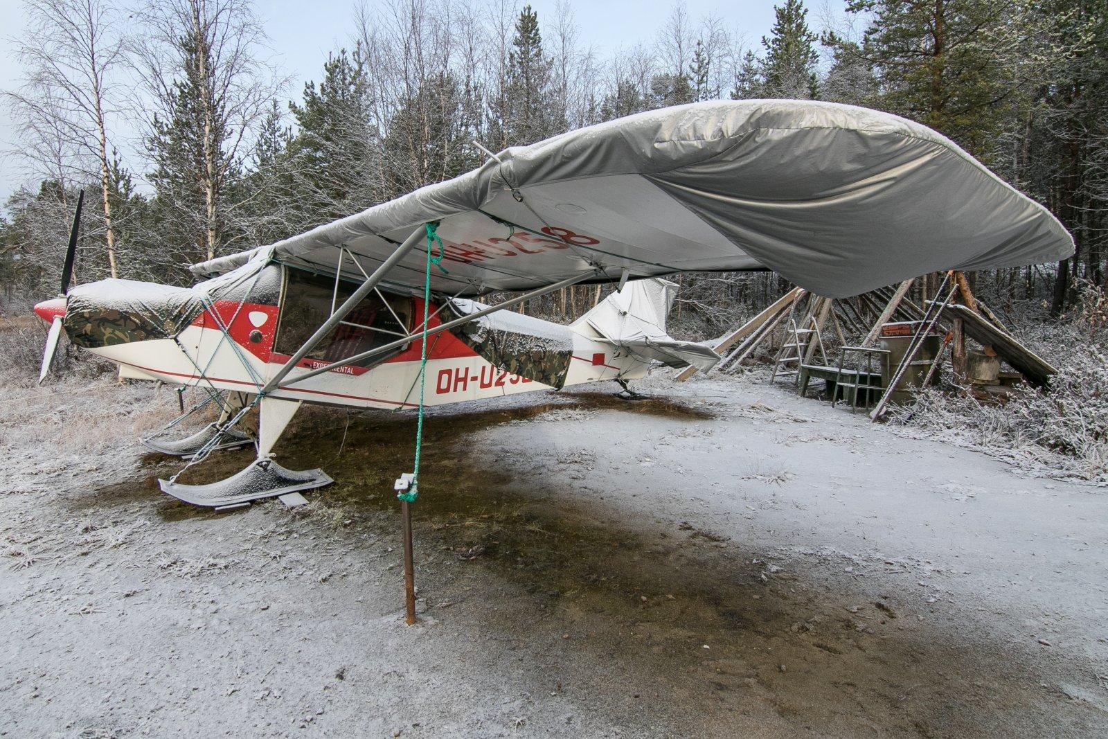 OH-U258. Alajärven rannassa. 17.10.2020.