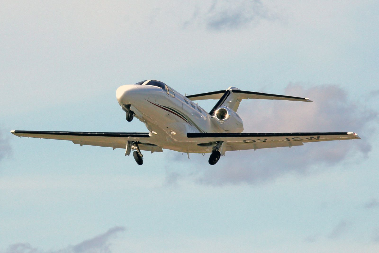 Cessna 510 Citation Mustang OY-JSW 4.9.2012