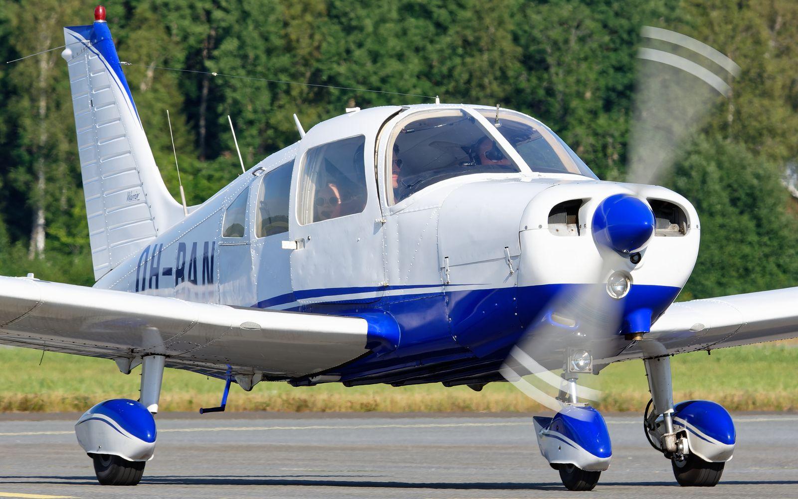 OH-BAN - Piper PA-28-151 Cherokee Warrior - Vaasan Lentokerho - 14.7.2021