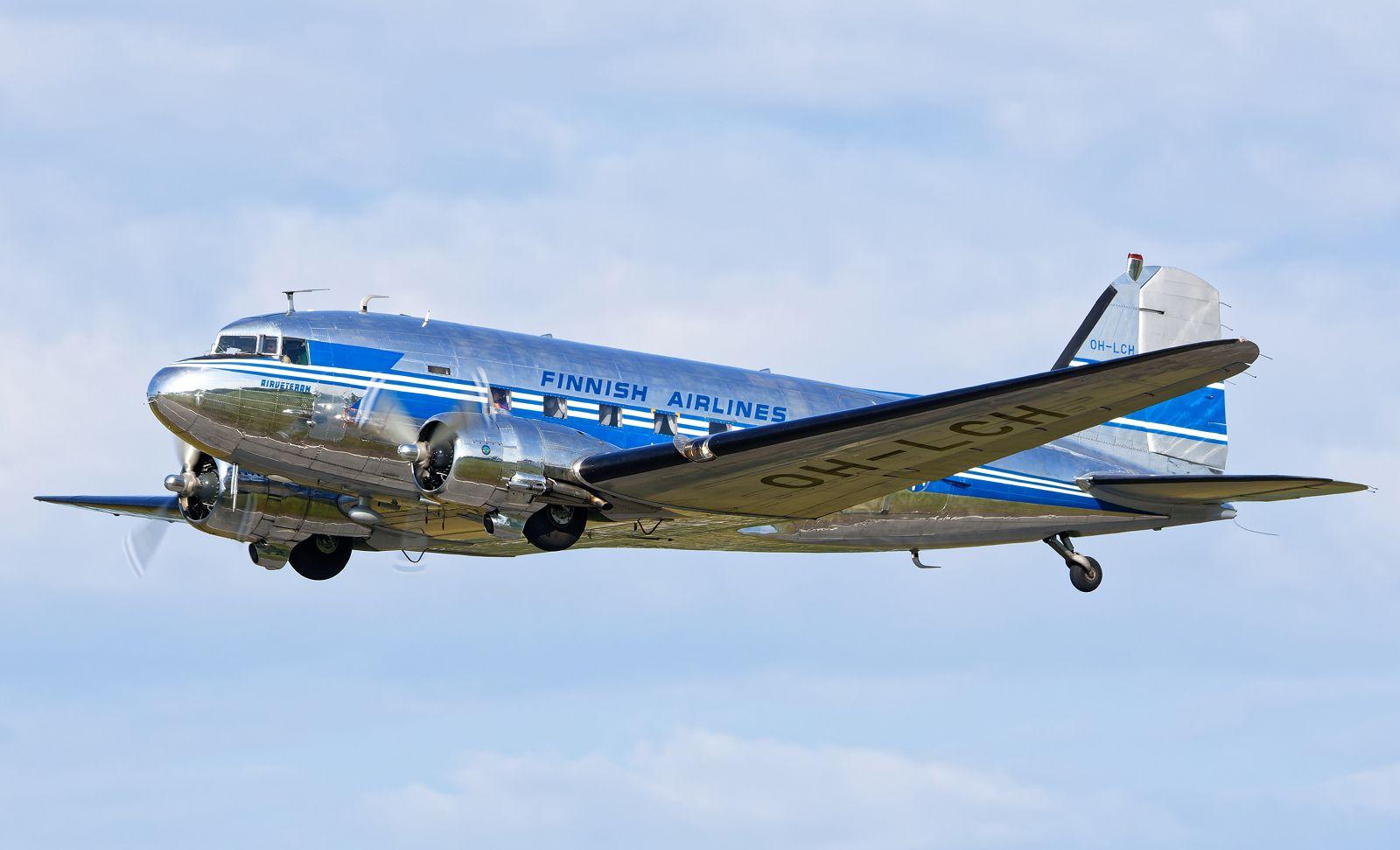 OH-LCH - Douglas DC-3 (C-53C Skytrooper) - Airveteran - 17.7.2021