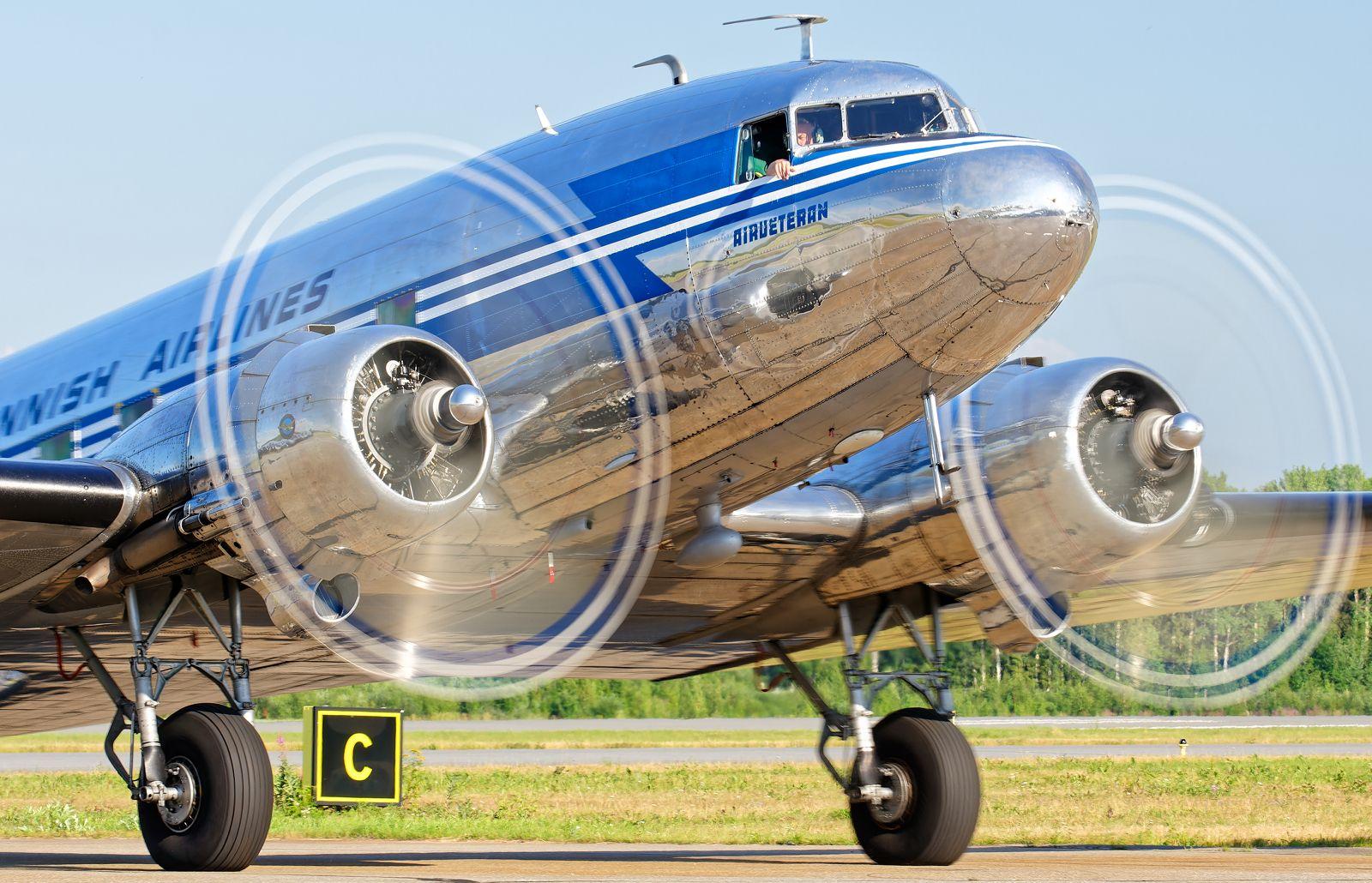 OH-LCH - Douglas DC-3 (C-53C Skytrooper) - Airveteran - 14.7.2021
