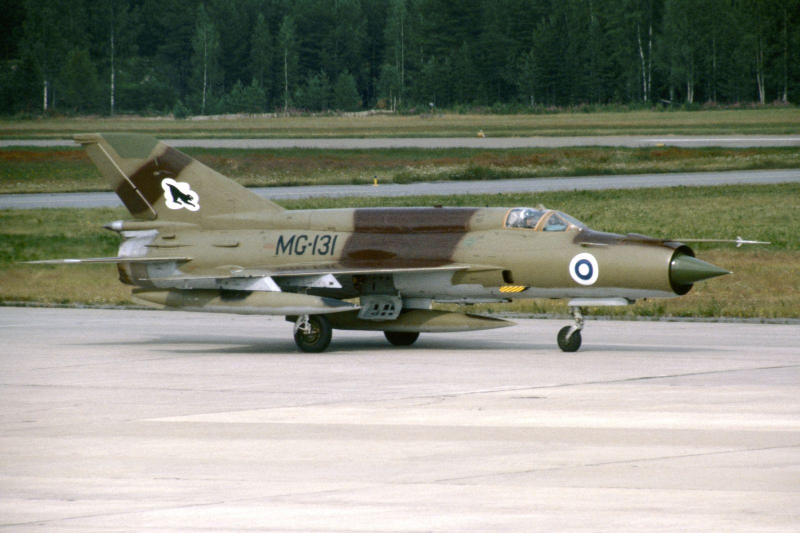 MiG-21 BIS MG-131 EFKU 1983