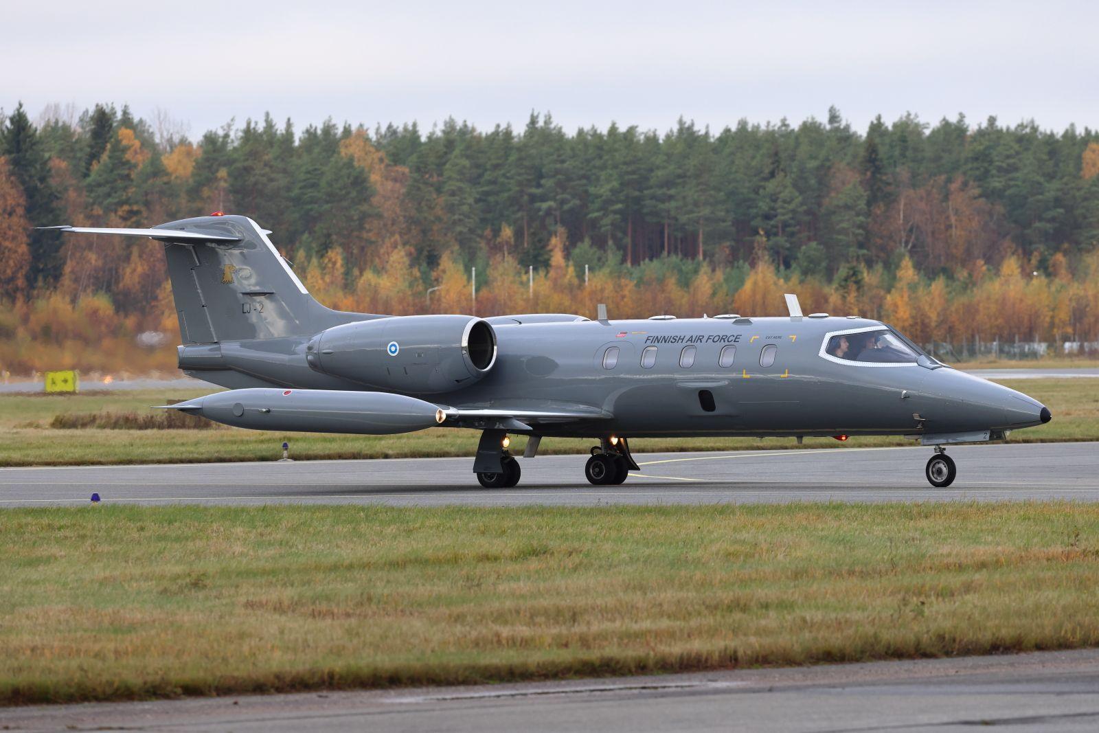 LJ-2 Learjet 35A/S  8.10.2021